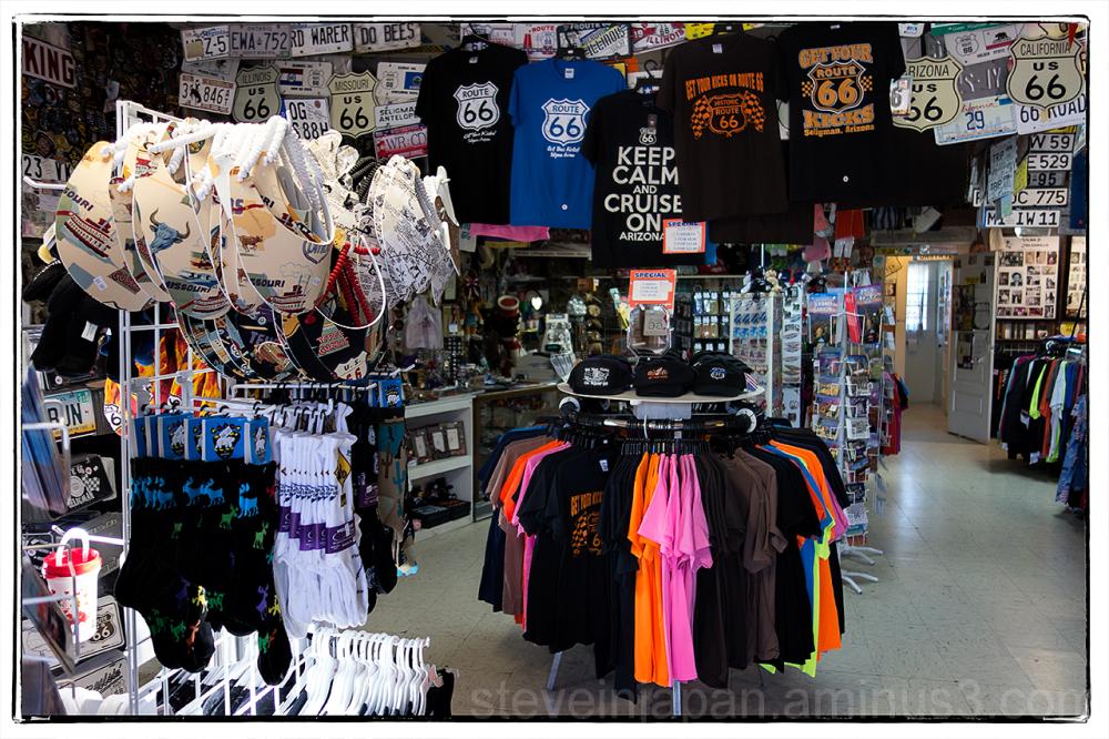 Angel & Vilma's gift shop in Seligman, AZ.