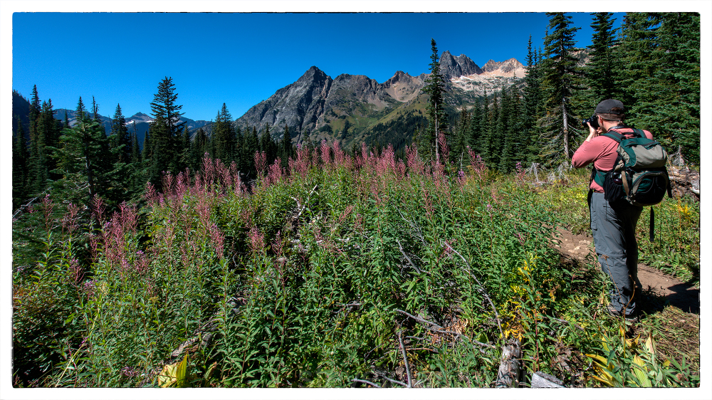 On the way to Blue Lake in the North Cascades.