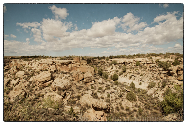 Tower Point at Hovenweep National Monument.