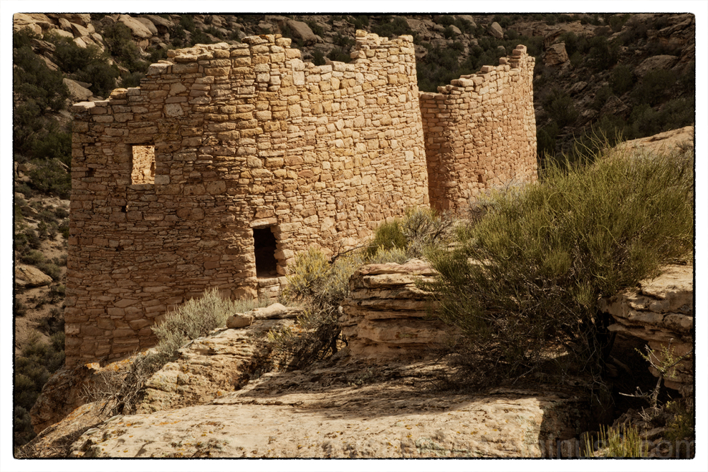 Twin Towers at Hovenweep National Monument.