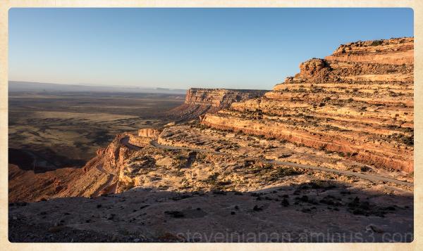 The road to Cedar Mesa in Utah, USA.