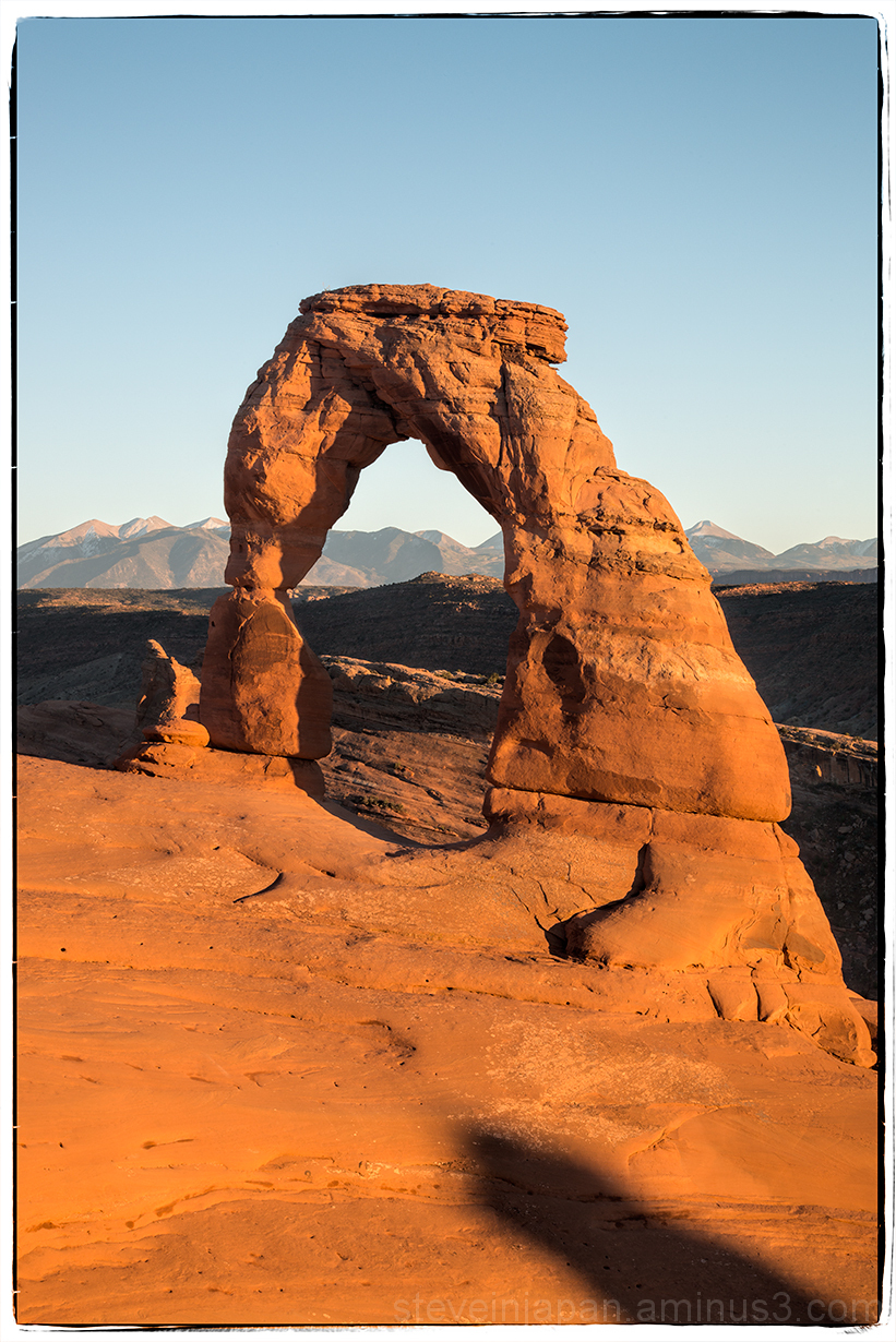 Delicate Arch in Arches NP.
