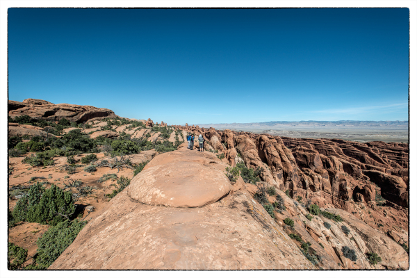 The Devil's Garden Trail in Arches National Park.
