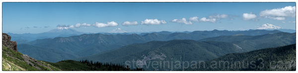 A panorama from Silver Star Mountain.