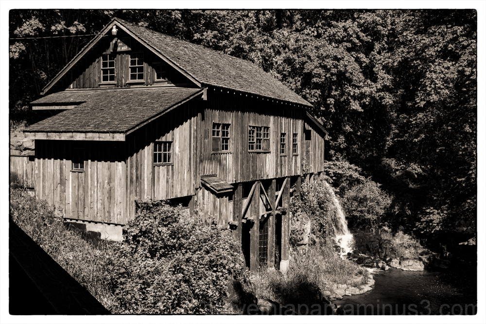The Cedar Creek Grist Mill in Washington State.
