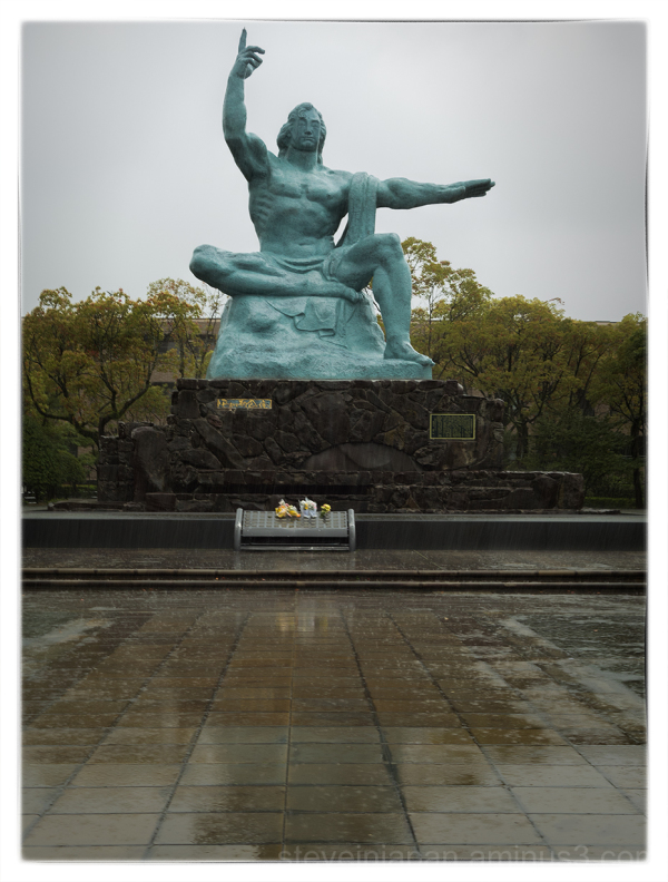 The Peace Park in Nagasaki.