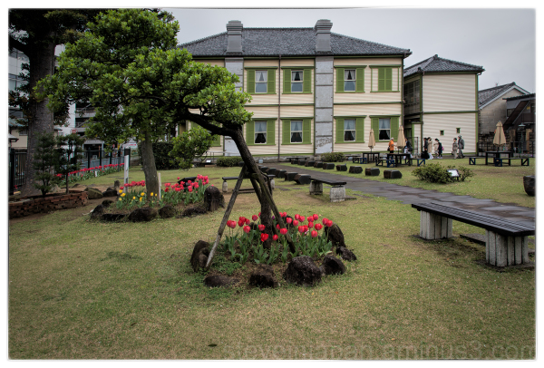 The Dejima Museum in Nagasaki, Japan.