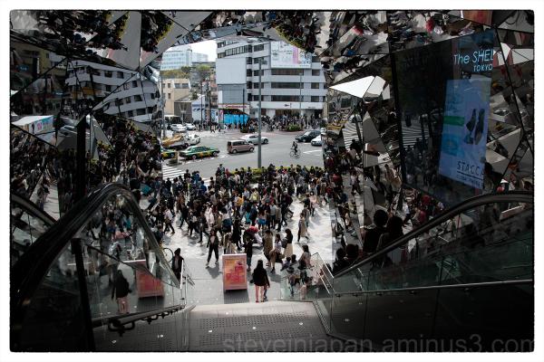 Tokyu Plaza, along Omote-sando, in Tokyo, Japan.