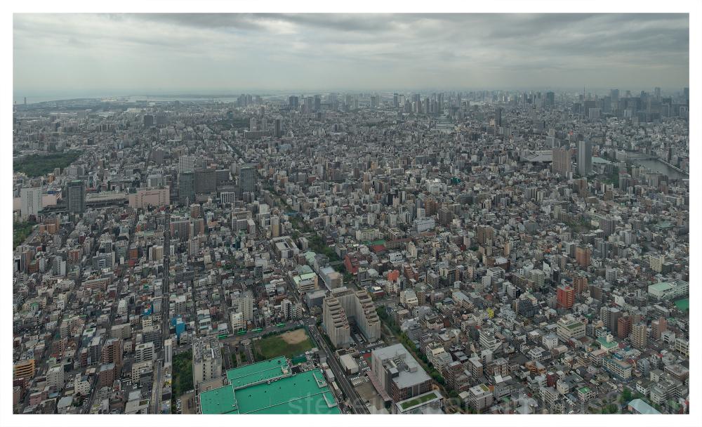 The Tokyo Sky Tree in Tokyo, Japan.