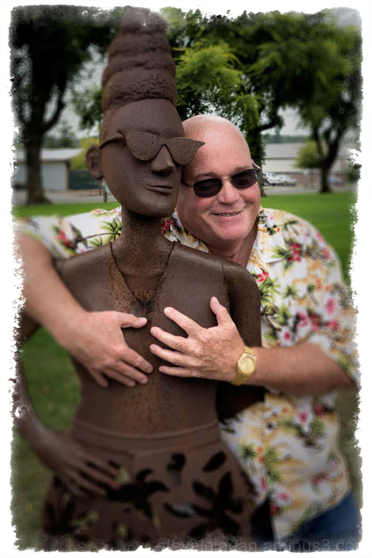 A portrait of my late friend Gary.