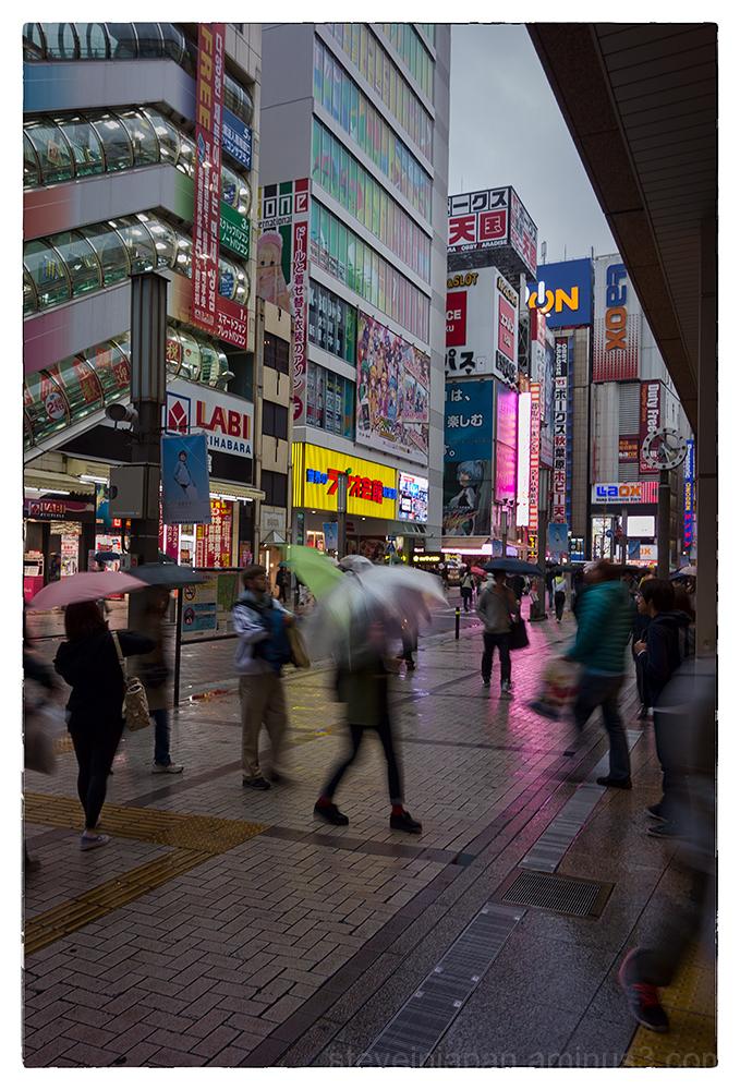 Akihabara in Tokyo, Japan.
