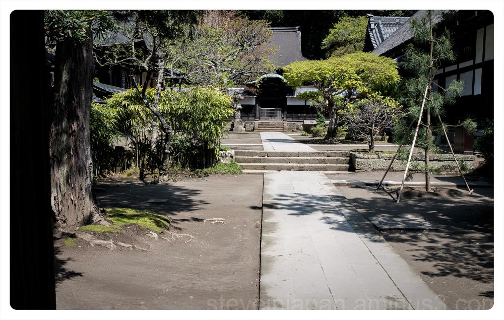 Engaku-ji, a Zen temple, in Kamakura, Japan.