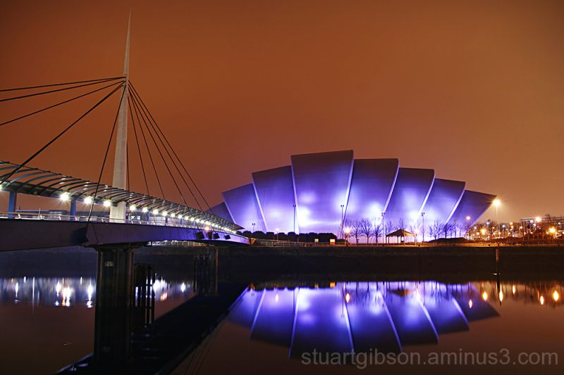 clyde glasgow secc night