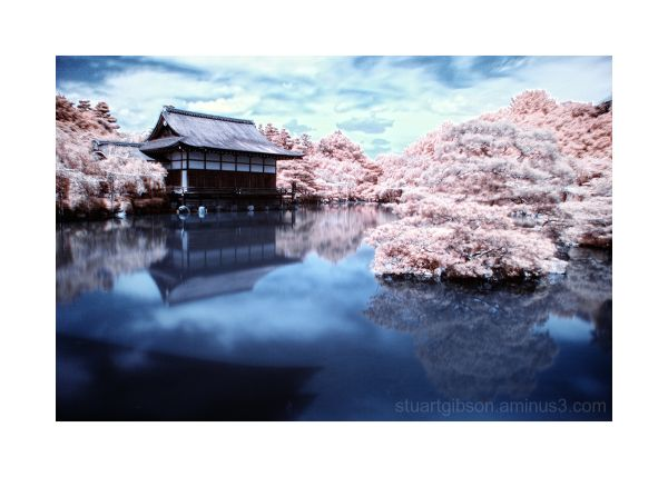 Heian Shrine, Infrared - 平安神宮、赤外線