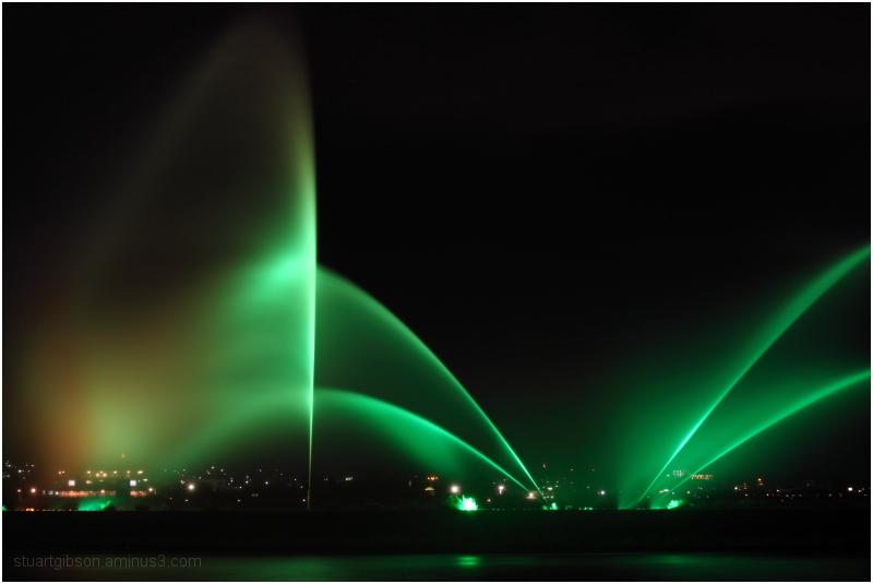 The Fountains of Lake Biwa