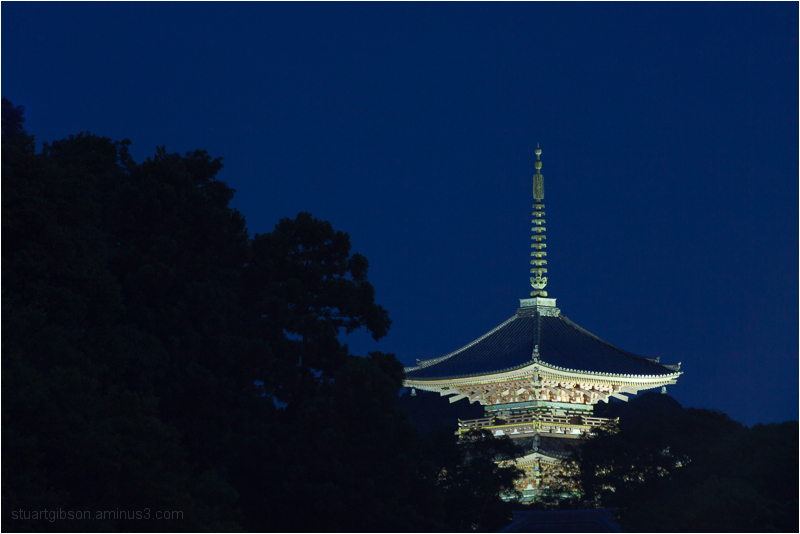 the pagoda of kiyomizu