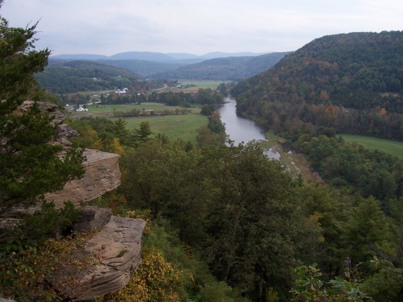 view from pratt's rock, new york