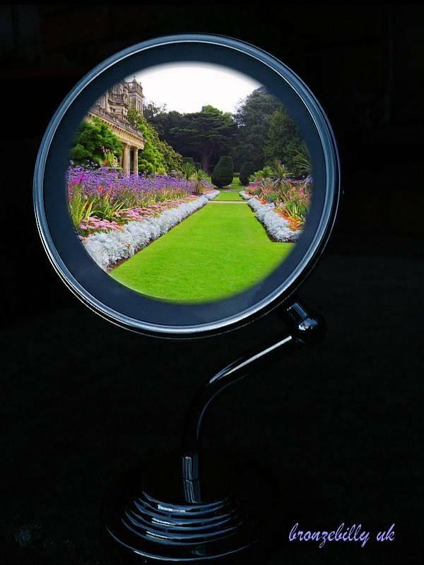 garden path mirror