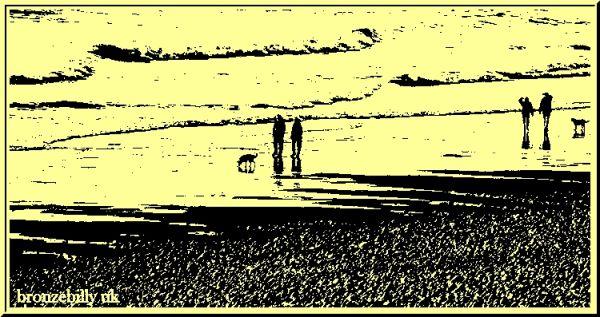 beach walk bronzebilly