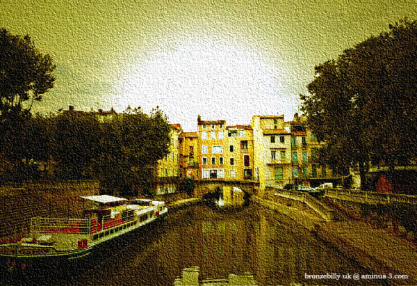 light filter canvas france canal bronzebilly