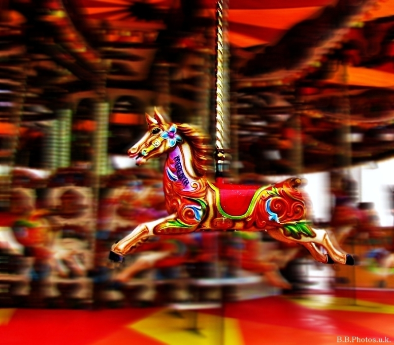 Fairground speed colour blur bronzebilly