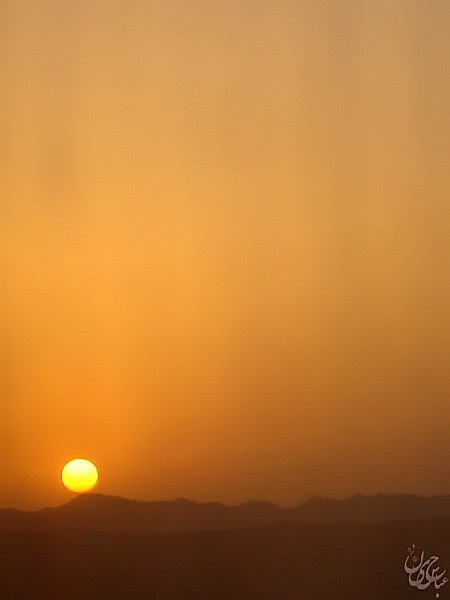 Mashhad's Sunset