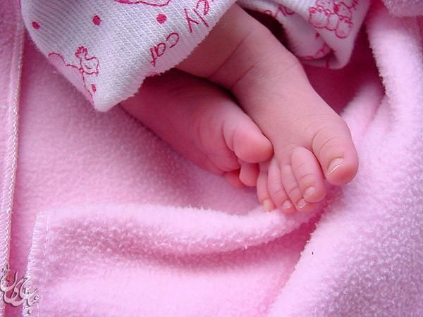 Angle's feet