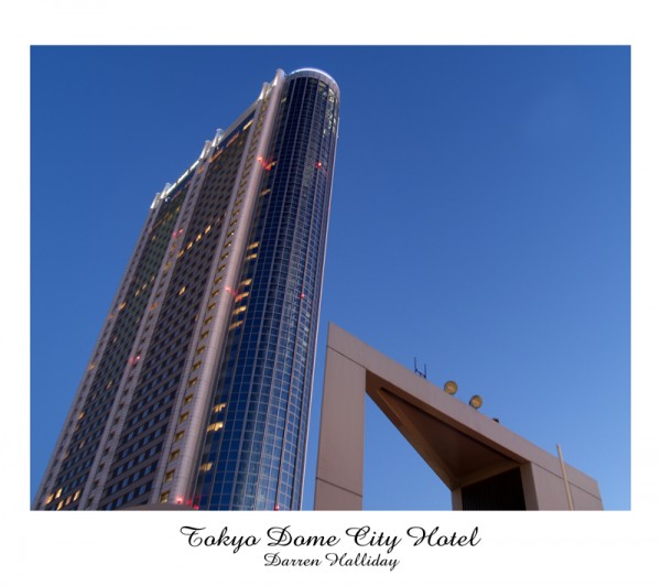 Tokyo Dome City Hotel Japan Darren Halliday