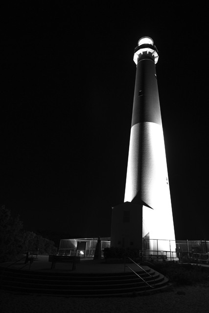old barney at night