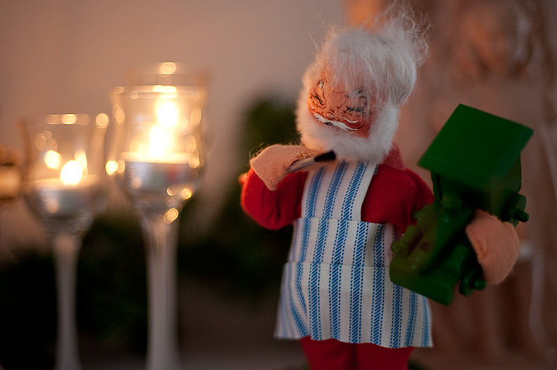Christmas Santa Doll
