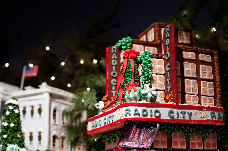 Radio City Music Hall in NYC in Gingerbread