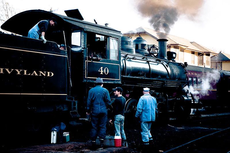 New Hope Ivyland train crew