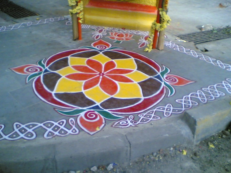 Rangoli - On a Diwali Day