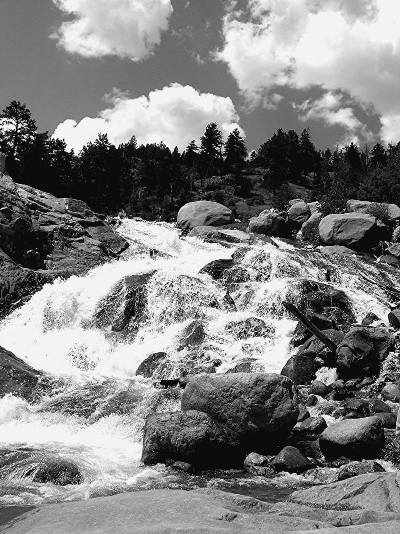 Lawn Lake Falls