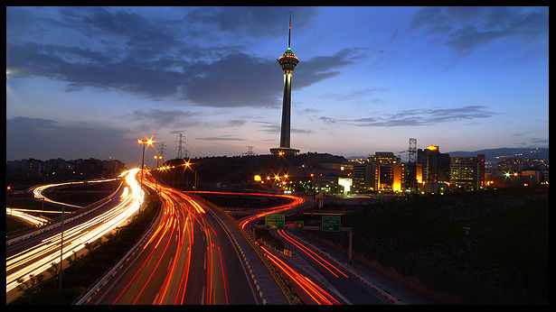 Tehran at Night 3