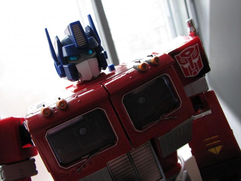 optimus prime transformer