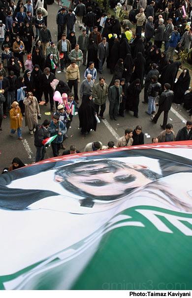 Rallies in Tehran on Bahman 22, marking the annive
