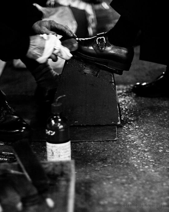 shoeshine, tokyo, ginza,