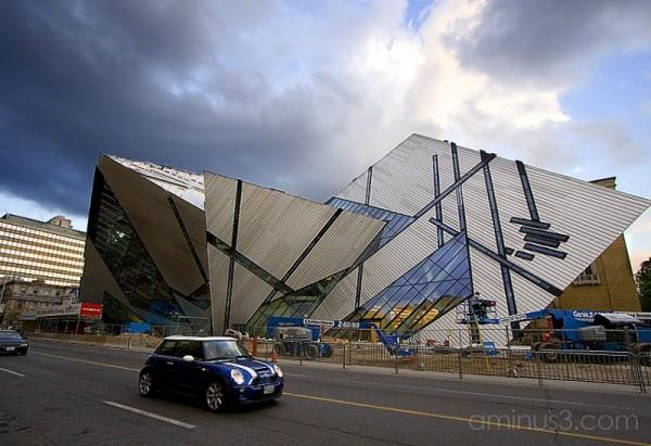 Royal Ontario Museum's Michael Lee-Chin Crystal