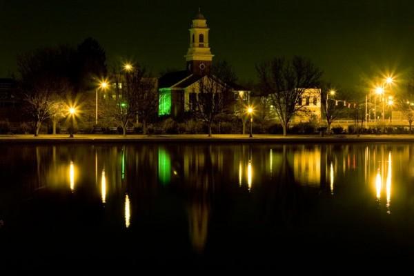 Church in Byrd Park, Richmond VA