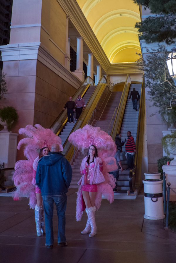 Pink girls, Las Vegas