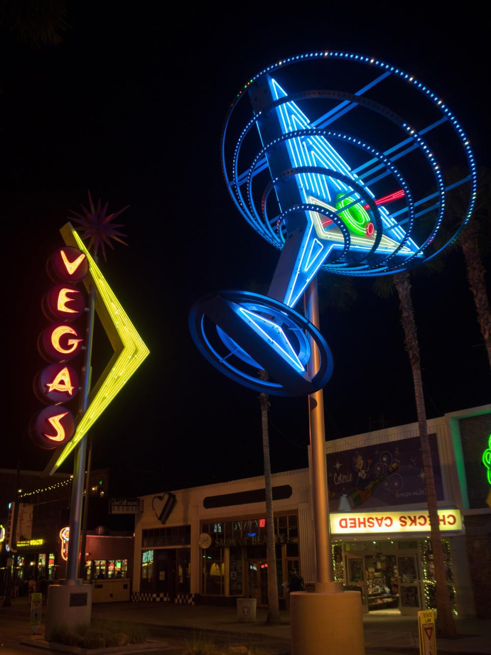 Neon signs, Las Vegas