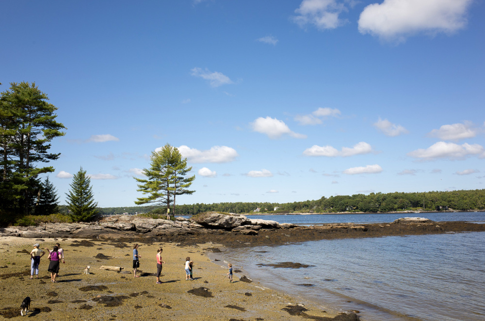 North Beach, MacMahan Island, ME