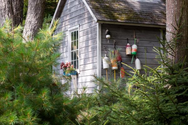 Garden shed, MacMahan Island, ME
