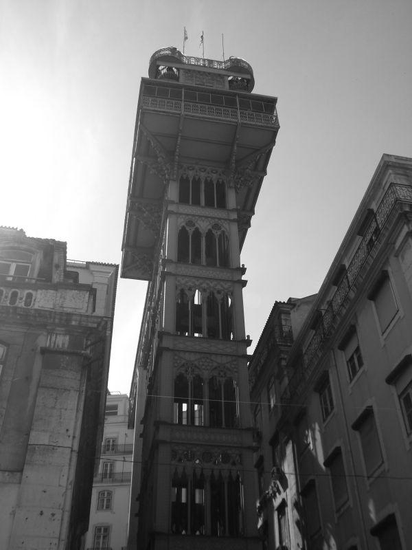 elevador de santa justa