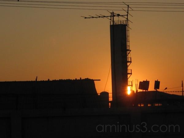 sunset in maynmmar II