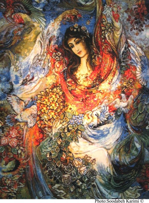 Persian Silk Carpet(7 Of 14)