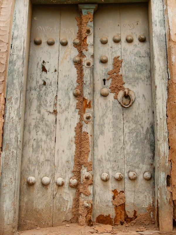The Old Door Attacked By Termites
