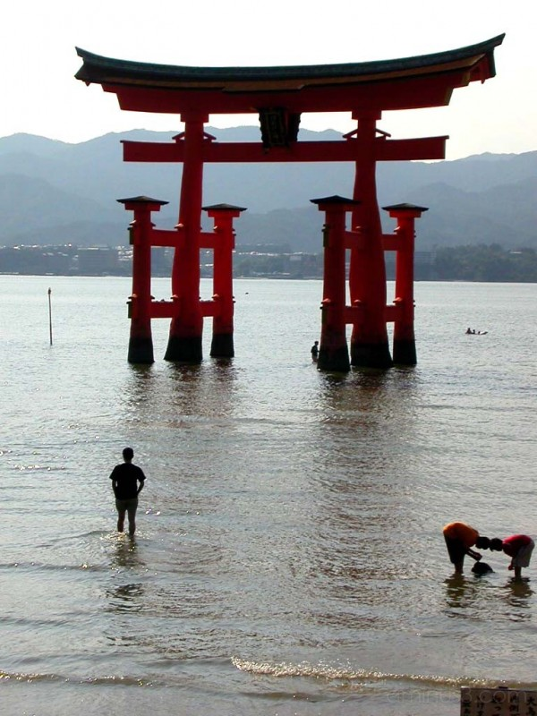 Toorii at Miyajima