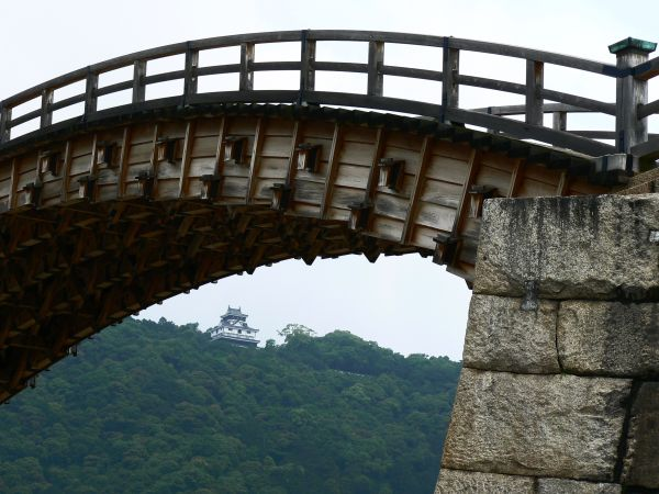 Kintai Bridge and Iwakuni Castle